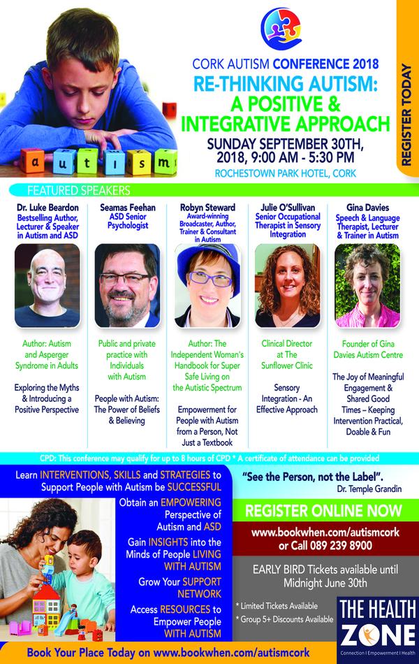 Flyer_Cork Autism Conference 2018 web